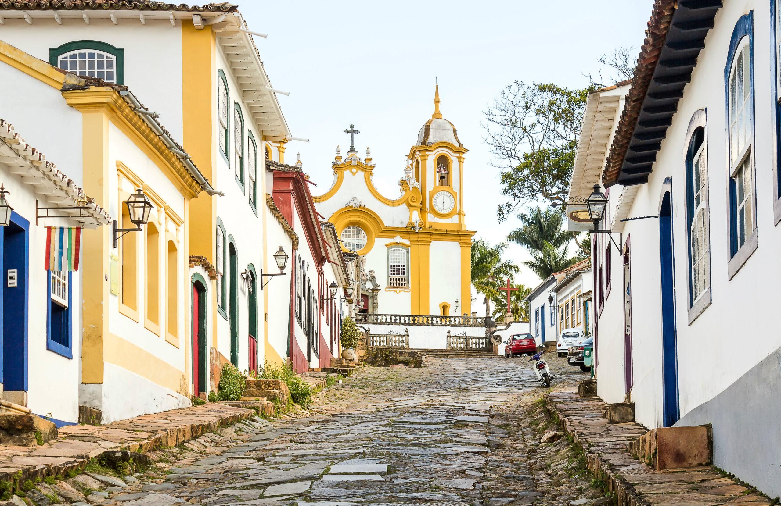 Centro histórico de Tiradentes, MG